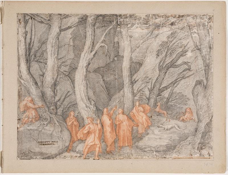 【博物之島新訊】雲端上看展—烏菲茲美術館展出但丁《神曲》珍罕畫作