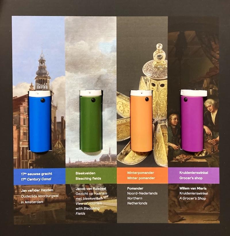 【博物之島新訊】能看也能聞!首創氣味體驗盒,荷蘭莫瑞泰斯皇家美術館帶你重回17世紀