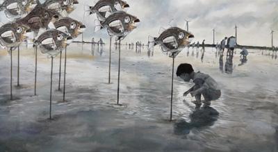 佛光緣美術館台中館:2019/3/9-2019/4/21【足印─2019年楔子畫會創作聯展】