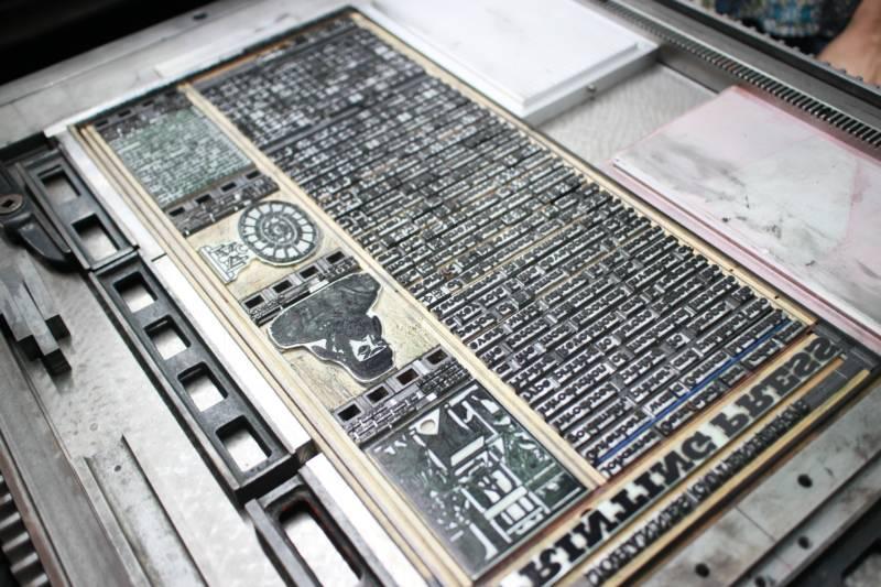 國立科學工藝博物館:2018/01/20-04/08【「時光之書:活版印刷小誌節」南部巡迴展】