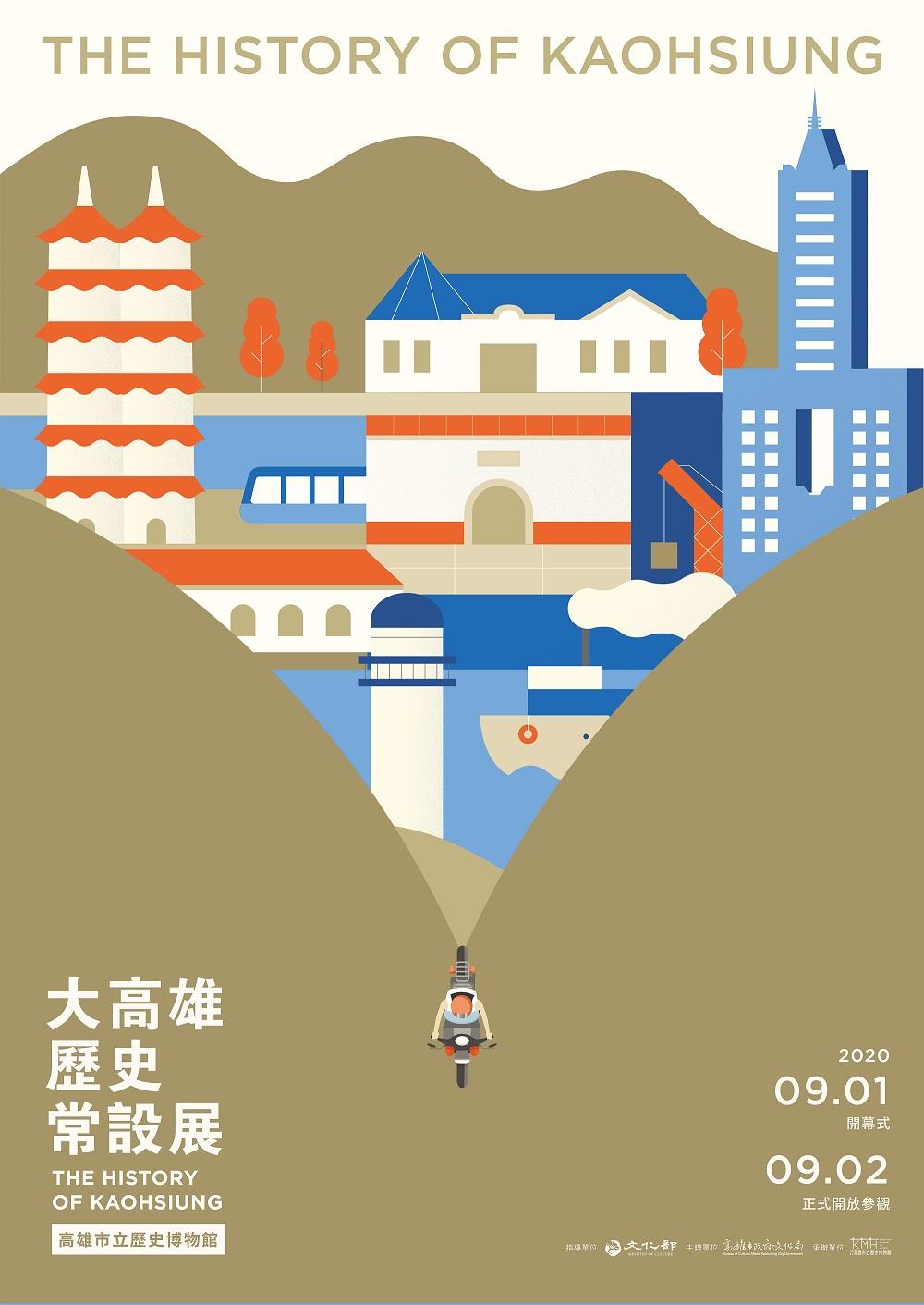 高雄市立歷史博物館:2020/9/1-12/31【大高雄歷史常設展】