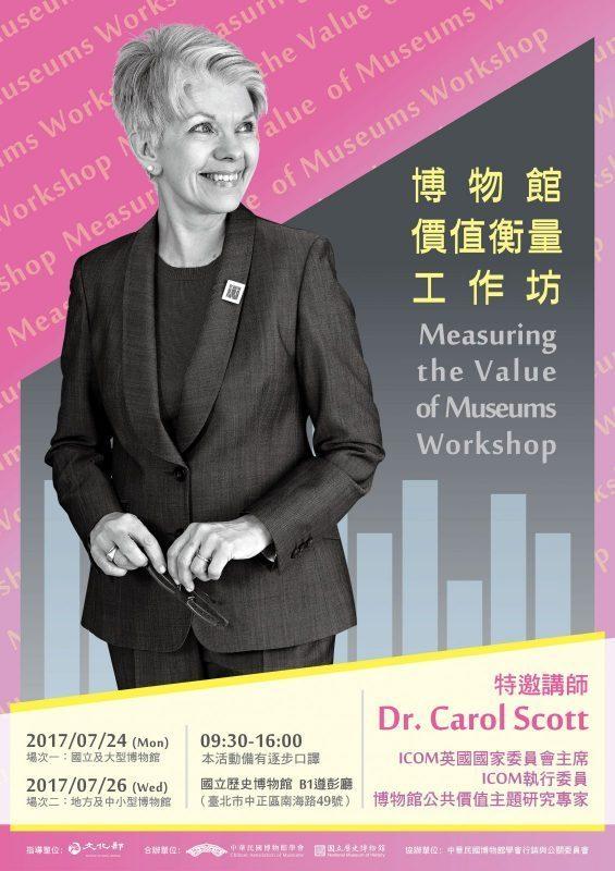 【中華民國博物館學會】博物館價值衡量工作坊_備取遞補成功名單公告