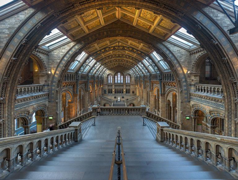 倫敦自然史博物館大廳