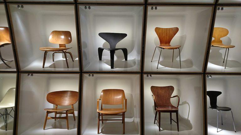 丹麥博物館裡的椅子展《THE DANISH CHAIR AN INTERNATIONAL AFFAIR》