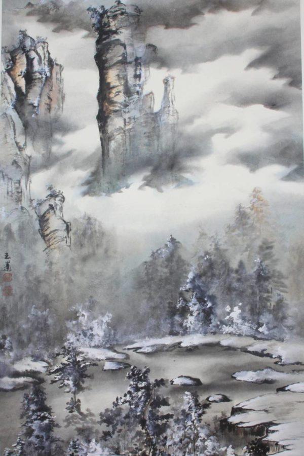國立中正紀念堂管理處:2018/01/18-01/29【彩墨娉婷五人水墨畫展】