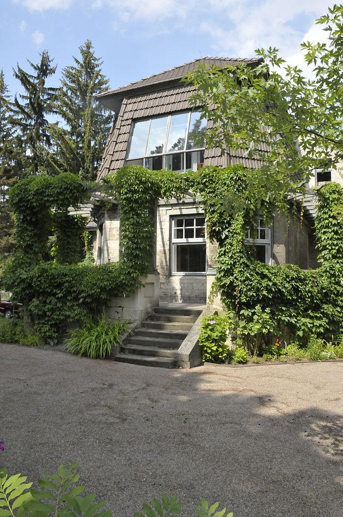 威瑪市立美術工藝學校的校長亨利·范·德費爾德(Henry van de Velde)故居-高場房