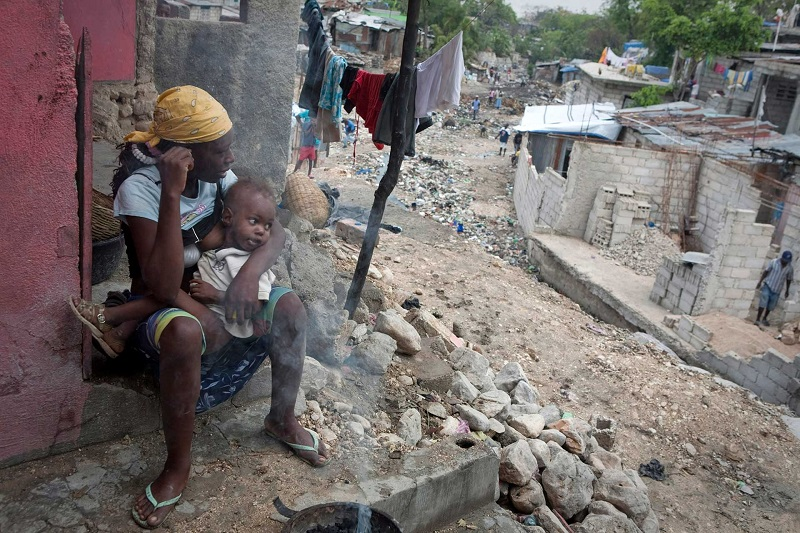 海地至今仍有將近三萬八千人因為2010年的地震而流離失所