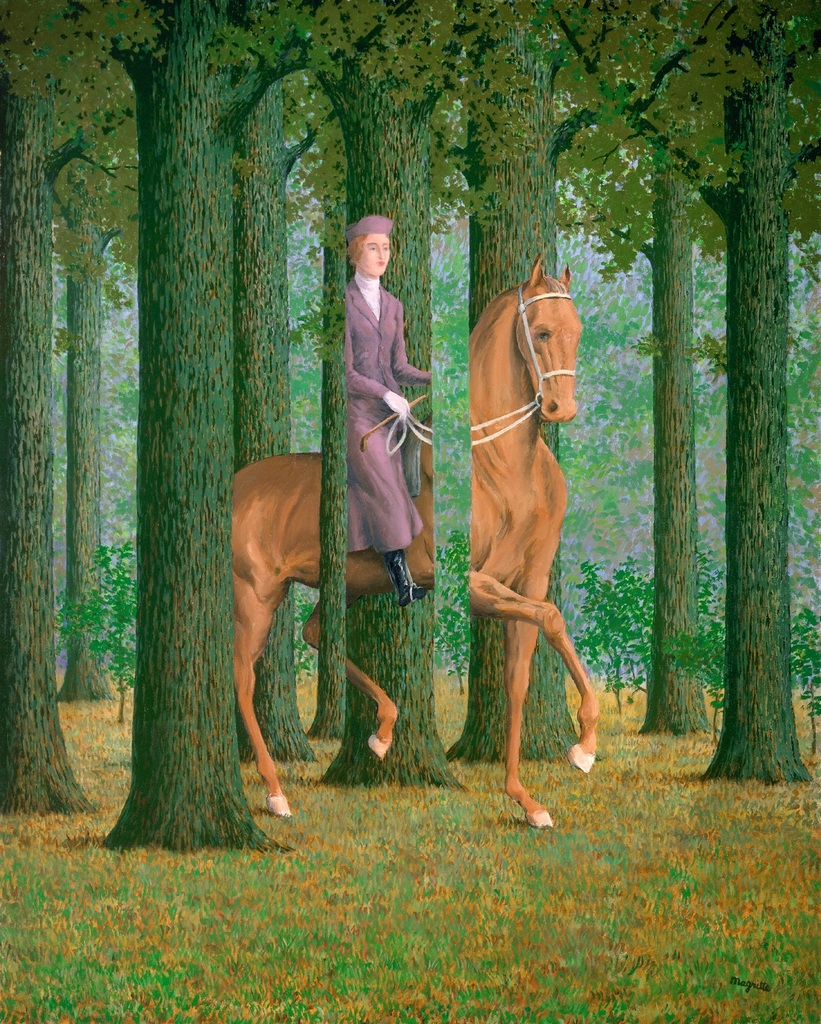 Le Blanc Seing, 1965 by Rene Magritte. Courtesy of the National Gallery of Art, Washington