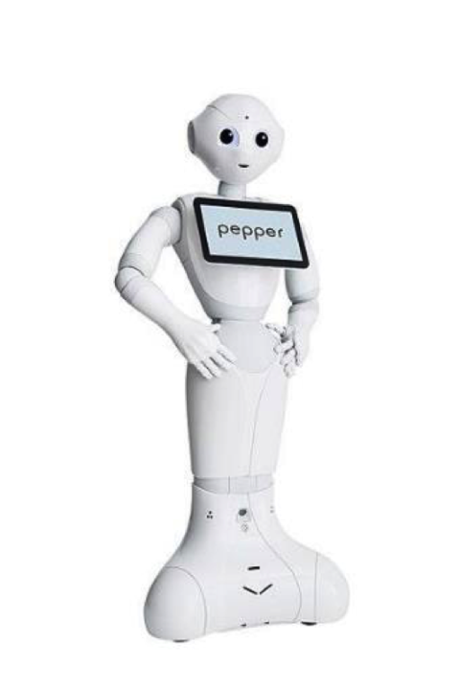 AI在博物館的應用日益普遍。Smithsonian博物館於2018年引進Pepper機器人在展場中為觀眾提供諮詢服務 Softbank Robotics Europe, via Wikimedia Commons