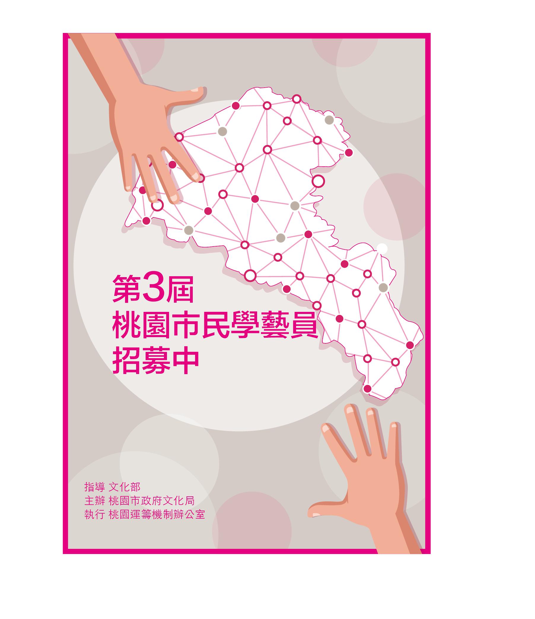 桃園市文化局:即日起至2020/3/6【第3屆桃園市民學藝員招募中】