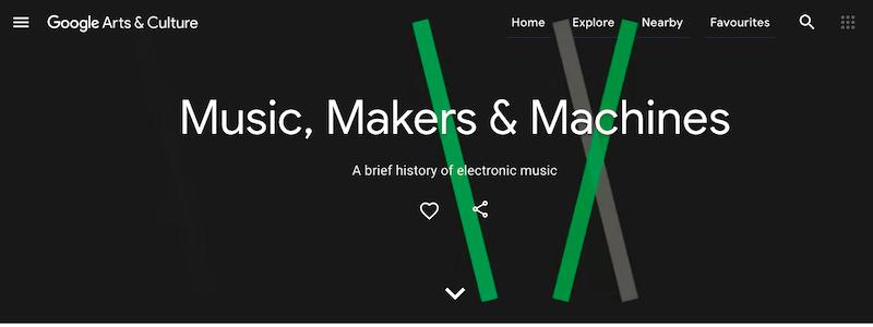 【博物之島新訊】線上享受搖曳高歌的歡愉吧!Google推出電子音樂線上展