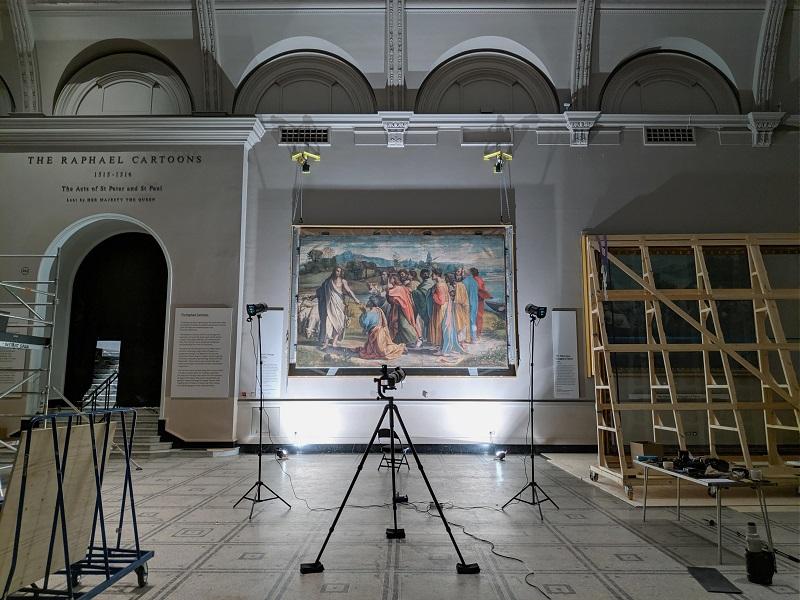 【博物之島新訊】雲端上看展—倫敦V&A博物館「探索拉斐爾圖稿」線上展