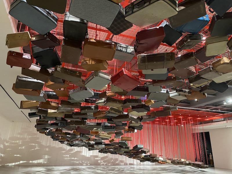 【博物之島新訊】海外巡迴首展獻給臺灣 塩田千春:能在這樣開放心靈的國家展出我很榮幸