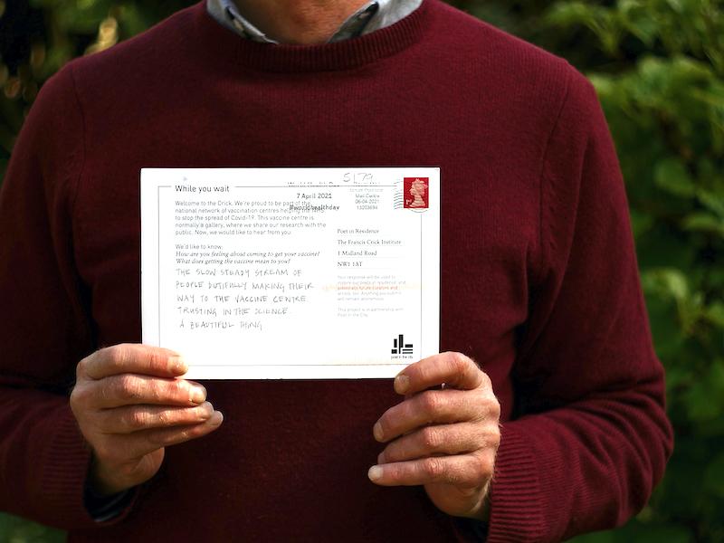 【博物之島新訊】來自疫苗接種中心的詩歌—英國「一滴希望」詩歌創作展