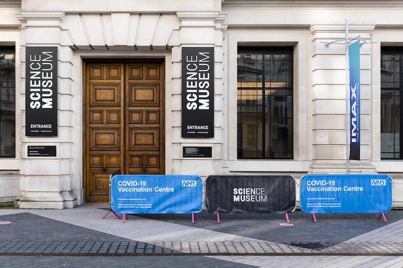 【博物之島專文】當代戰疫現場—英國博物館成為疫苗接種中心,勇於迎接後疫情時代!