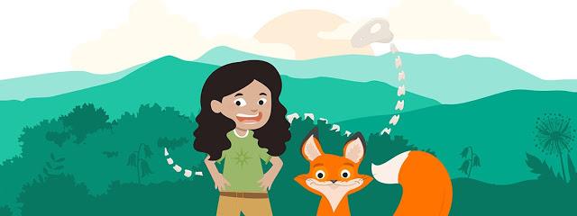 孩子與大自然互動的第一步Dippy's Naturenauts