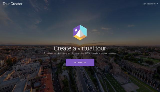 Tour Creator 讓每個人都能製作VR!