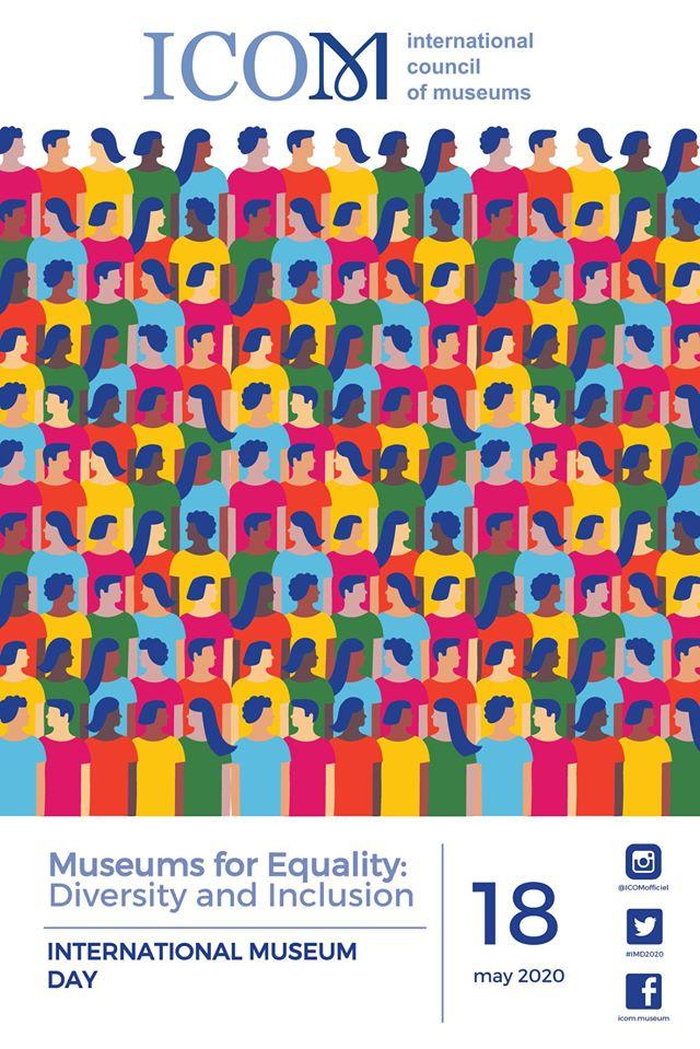 中華民國博物館學會:2020國際博物館日【用創意彩繪多元.用生命擁抱平權】